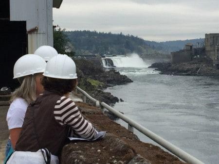 Willamette Falls Oregon City Oregon