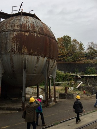 Guided Tour of Willamette Falls in Oregon City