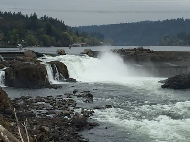Willamette Falls Oregon City Oregon