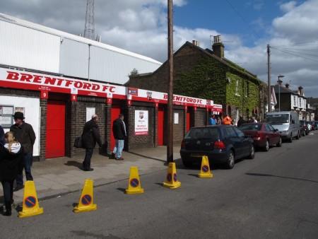 Griffin Park, home of Brentford FC