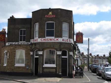 Griffin Pub in Brentford