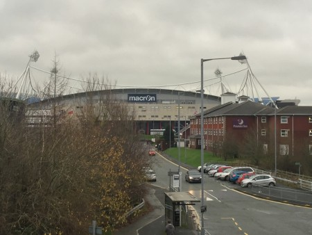Macron Stadium in Bolton.