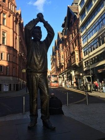 """Statue of """"Cloughie"""""""