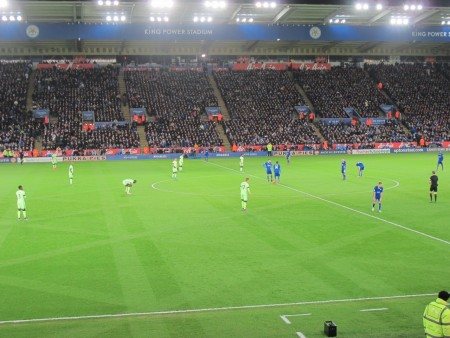 Kickoff vs Man City, 12-29-2015.