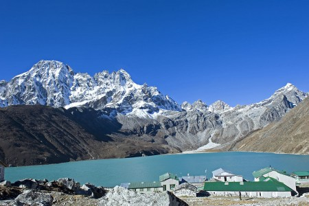 Gokyo Lake (source: Cooper7979 on Wikimedia)
