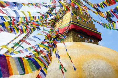 Temple in Kathmandu (via Embark Adventures.