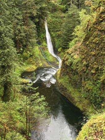 Falls just below High Bridge