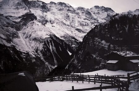 View from Walter's Hotel, Gimmelwald, Switzerland