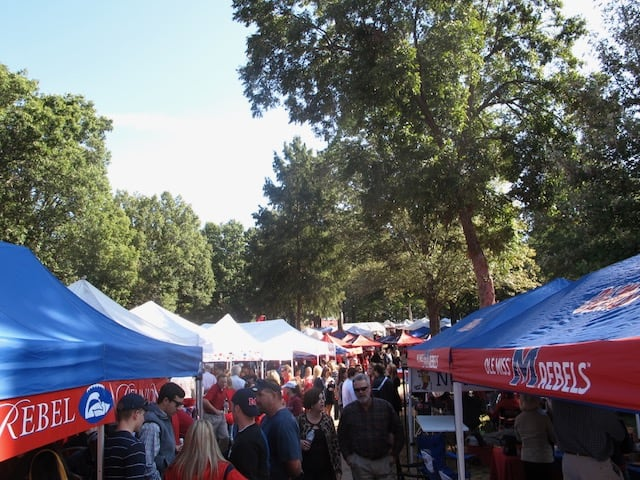 ole miss football grove